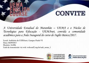 uema english course